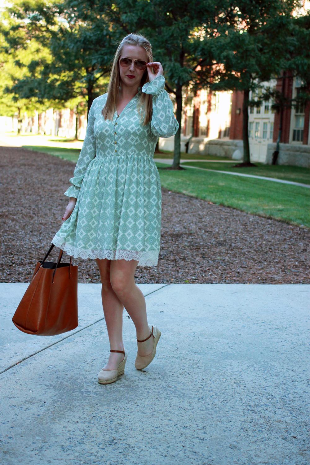 highline collective medallion peasant dress, peasant dress, boston style blogger, boston fashion blogger, boston blogger summer, lord and taylor dresses, highline collective dresses,