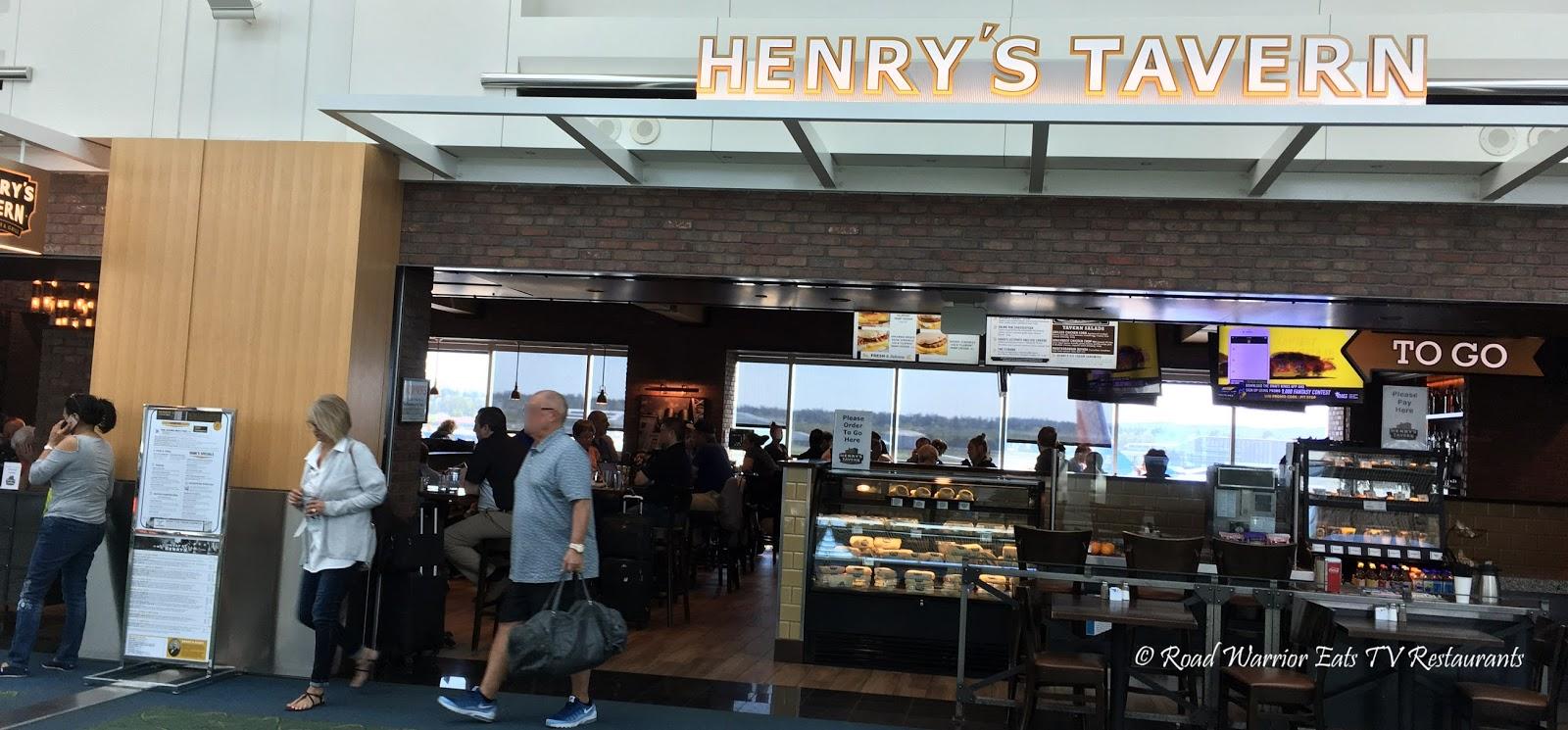 Henry S Tavern Portland International Airport Pdx