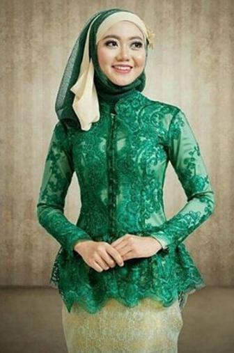 Model Kebaya Muslim Saat Ini Untuk Pesta