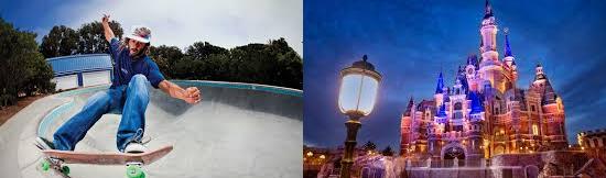 15 coisas estranhas proibidas na Disneylândia - Skate