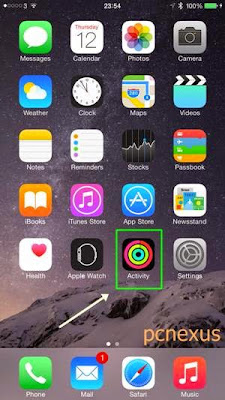 activity app iphone 6