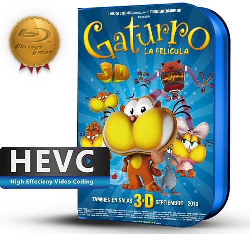Gaturro, la película (2010) 1080P HEVC-8Bits BDRip Latino(Animación)
