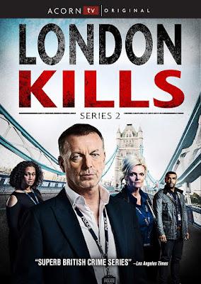 London Kills Series 2 Dvd