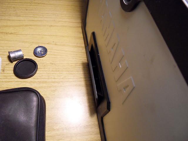 desmontaje cerradura  topcase Supertenere