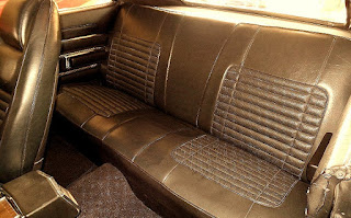 1970 Dodge Charger RT Six Pack Seat Rear