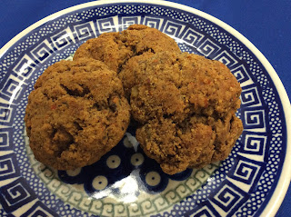Gluten Free and Vegetarian Persimmon Cookies