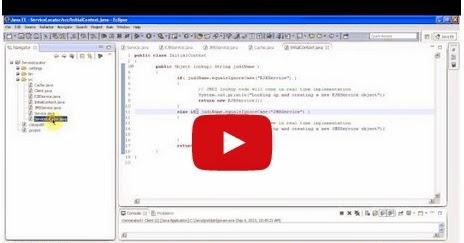 Java ee service locator design pattern implementation for Object pool design pattern java