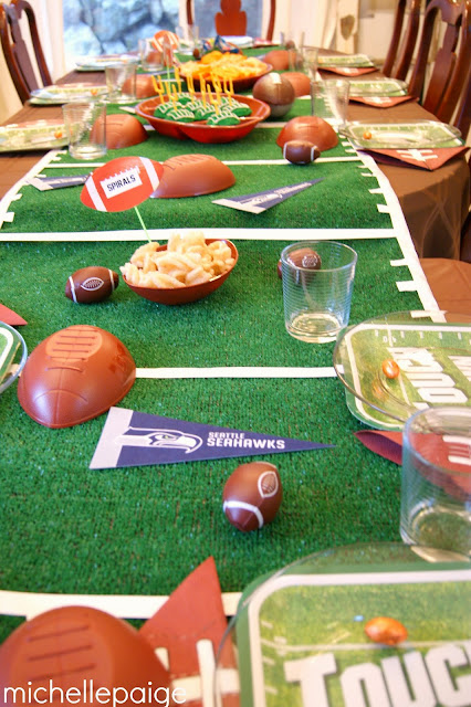 Football Party Foods @michellepaigeblogs.com