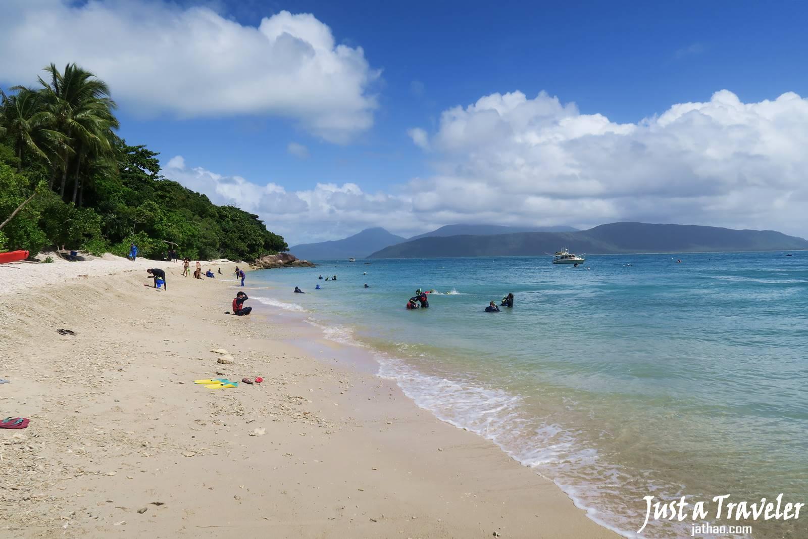 凱恩斯-大堡礁-翡翠島-海灘-內堡礁-浮潛-潛水-推薦-旅遊-自由行-澳洲-Carins-Great-Barrier-Reef-Fitzroy-Island-Beach-Snorkel-Diving-Travel-Australia