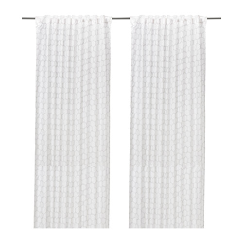 Ikea Curtains Lenda Living Room Panels Rods Vivan