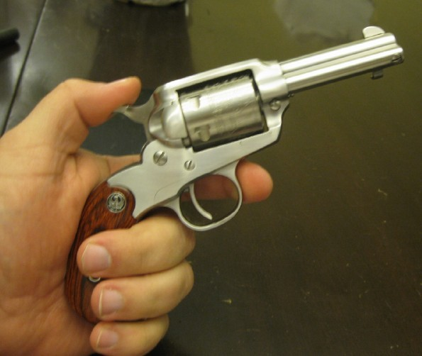 Baboon Pirates: Another Ruger Wheelgun!!