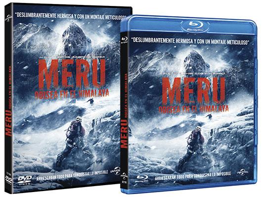 A la venta en DVD y Blu-ray 'Meru. Odisea en el Himalaya'