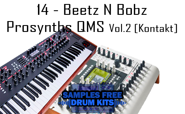 14 - Beetz N Bobz Prosynths QMS Vol.2 [Kontakt Library]