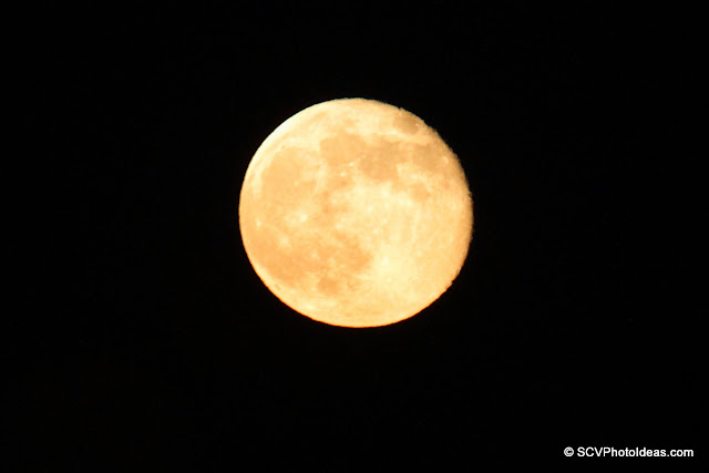 98% full moon rising VI