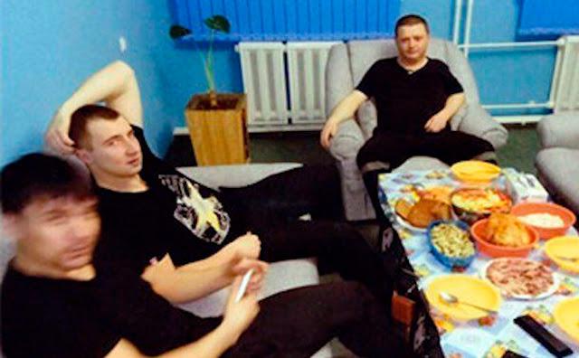 5 фото и видео о том, как пирует в колонии убийца и бандит Вячеслав Цеповяз