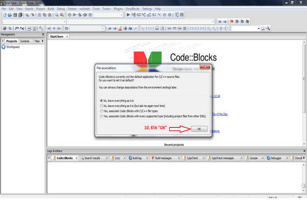 Tutorial Cara Install CodeBlocks di Dalam Microsoft Windows