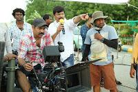 Allu Arjun at Sarainodu Movie Onlocation
