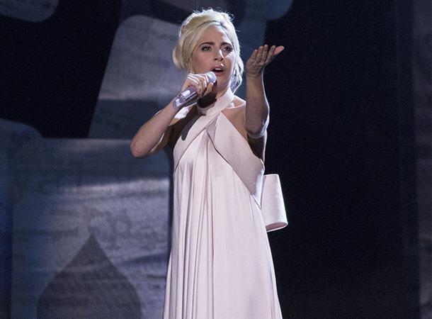 Lady Gaga Performs at The Royal Variety Show