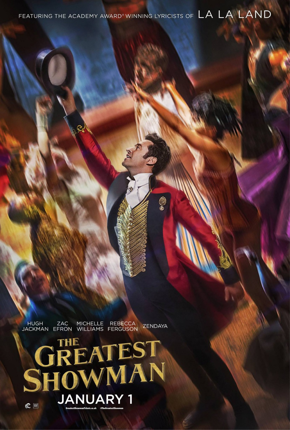 Movie Review The Greatest Showman 2017 Lolo Loves Films