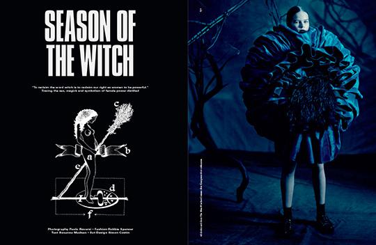 portada de revista satanica