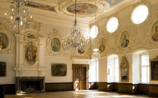 Salón principal del castillo de Corvey