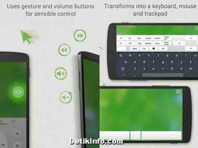 aplikasi android Mouse dan keyboard PC