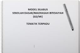 Download Silabus Tematik Terpadu Kurikulum 2013 SD MI Kelas 1 Sampai dengan kelas 6