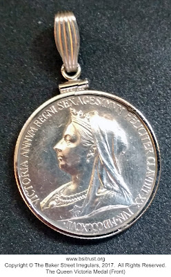 The BSI Queen Victoria Medal (front)