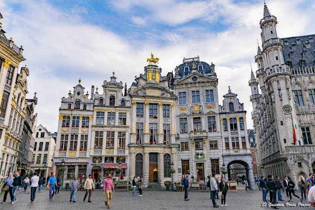 Grand Place - Bruselas por El Guisante Verde Project