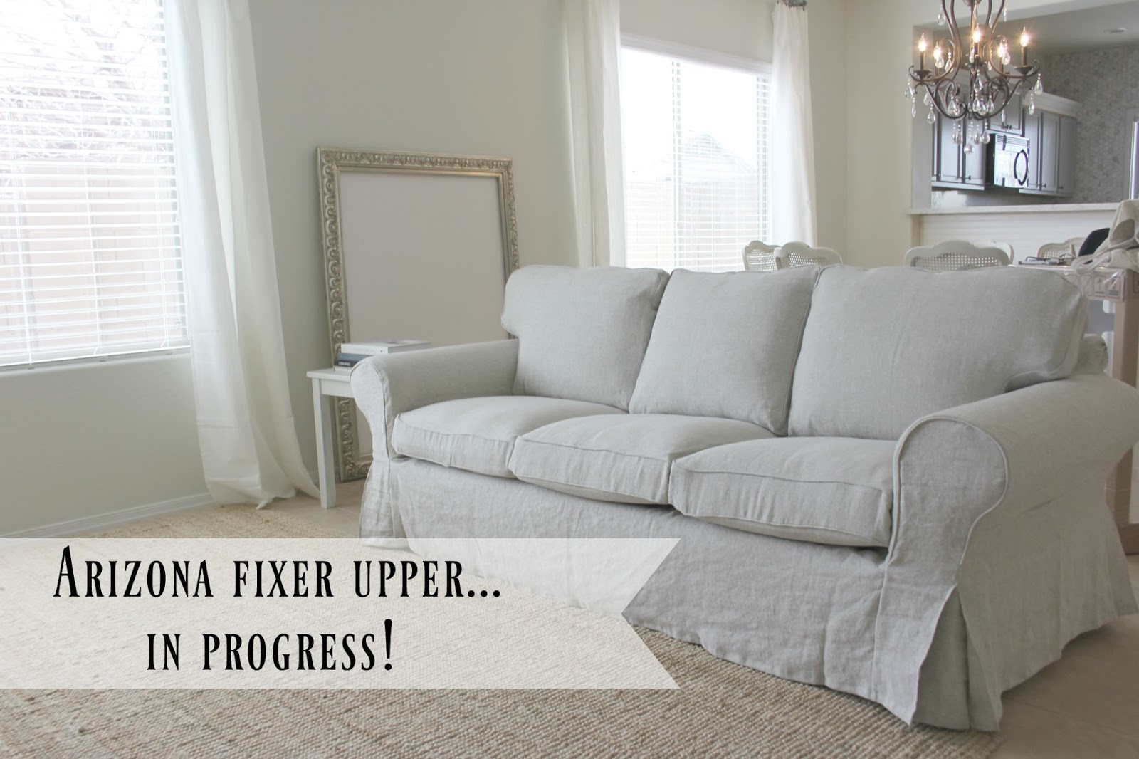 lovely ikea living room | My Ektorp Sofas Get a Luxurious Ikea Hack from BEMZ ...