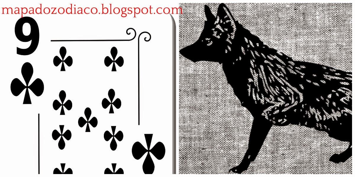 significado carta cigana lenormand raposa 9 paus