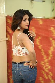 Deekshita Parvathi in a short crop top and Denim Jeans Spicy Pics Beautiful Actress Deekshita Parvathi January 2017 CelebxNext (44).JPG