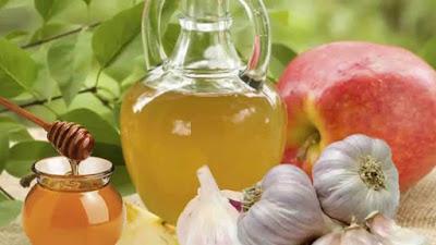 vinagre de manzana y ajo para limpieza de las arteras