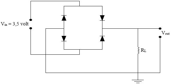 gambar rangkaian penyearah gelombang penuh