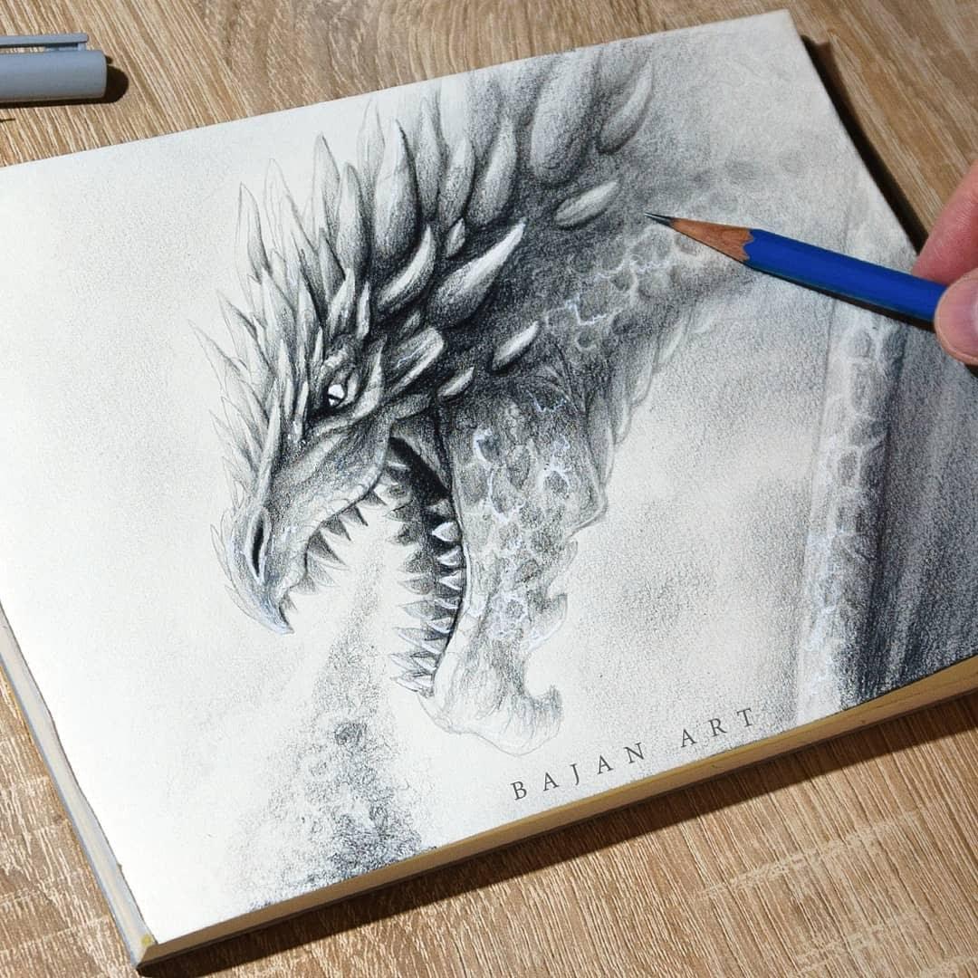 13-Dragon-Łukasz-Andrzejczak-Fantasy-Art-and-Animals-www-designstack-co