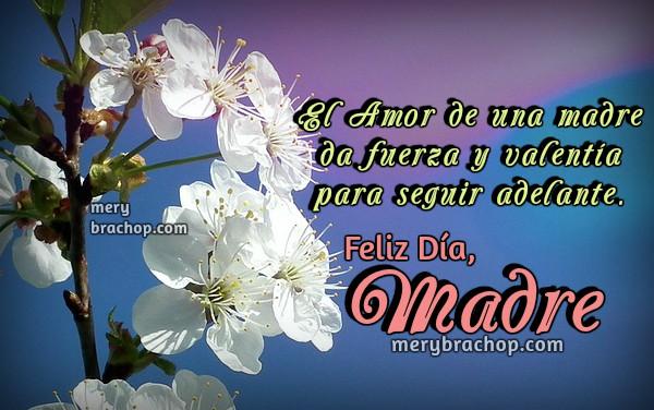 Tarjetas para felicitar a la madre en su día especial, frases para la mamá, abuela, tía, sobrina, bendiciones para la madre por Mery Bracho.