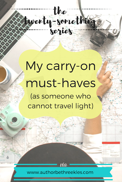 I travel a lot - and cannot travel light. So here's what I absolutely cannot live without in my carry-on hand luggage, including my perfect wallet and bag!