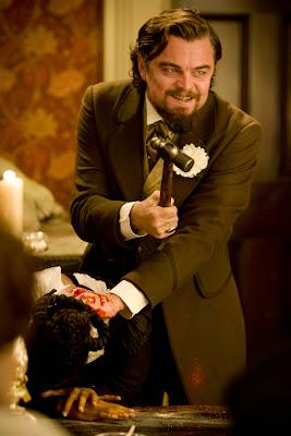 Leonardo DiCaprio plays Calvin Candie