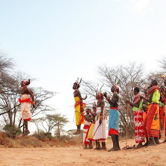 Safari Fusion blog | Jump, jump | Samburu warriors via Saruni Samburu