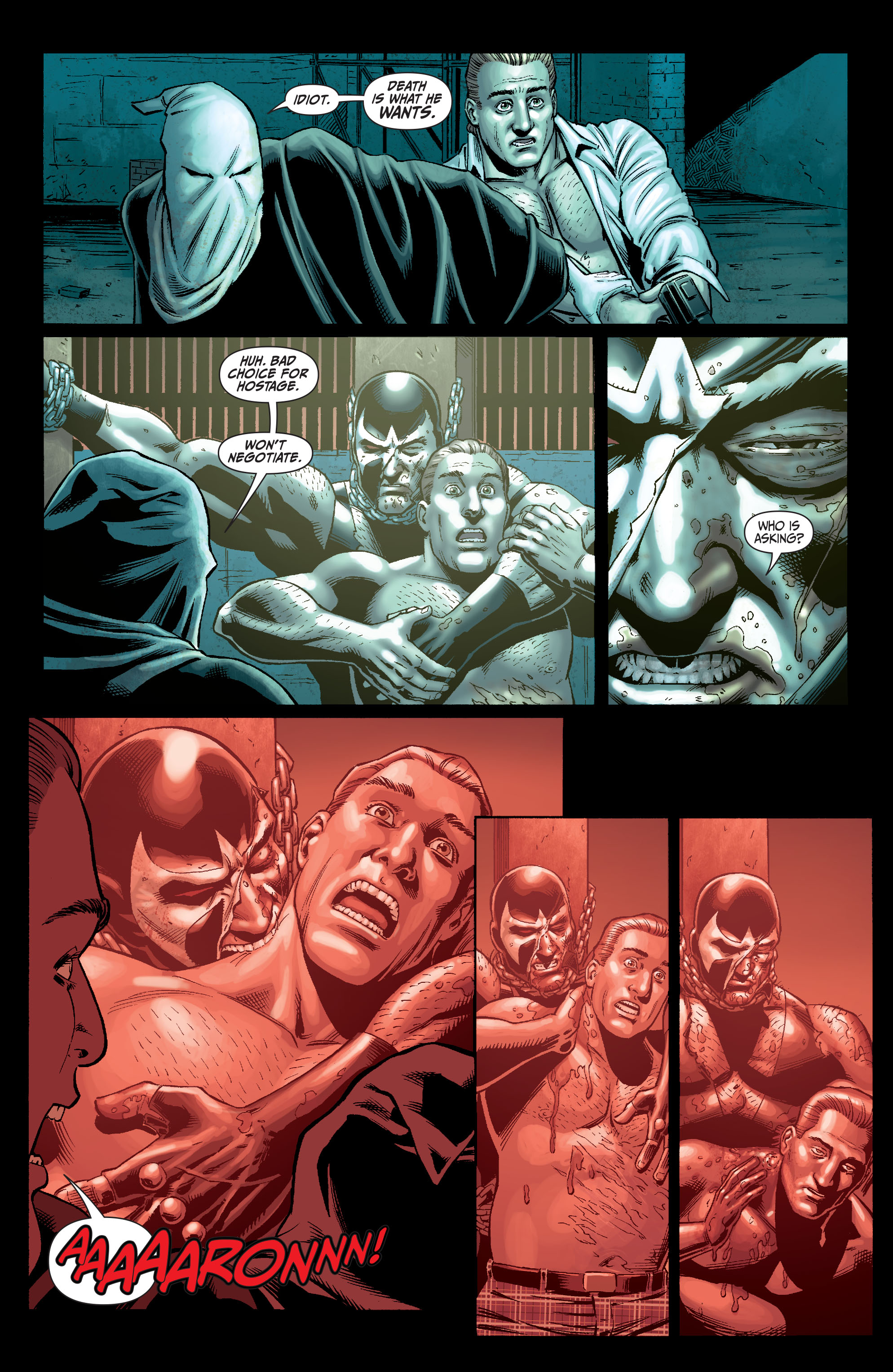 Read online Secret Six (2008) comic -  Issue #5 - 14