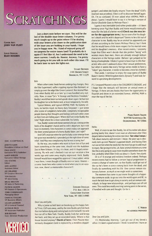 Read online Animal Man (1988) comic -  Issue #76 - 26