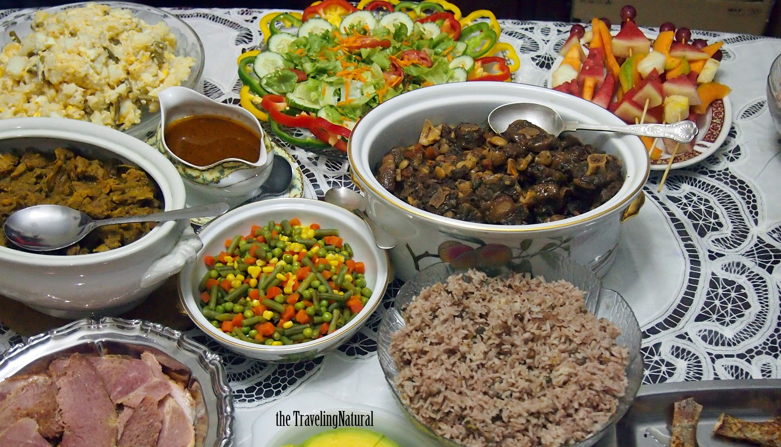 Christmas Lunch Ideas Cold Food