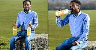 Άντρας πίνει κάθε μέρα τα ούρα του και λέει ότι νιώθει πιο υγιής, πιο όμορφος και πιο έξυπνος