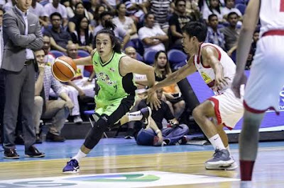 Terrence Romeo Crosses over Marc Barroca