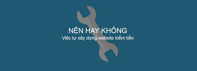 Tự xây dựng website cho mình