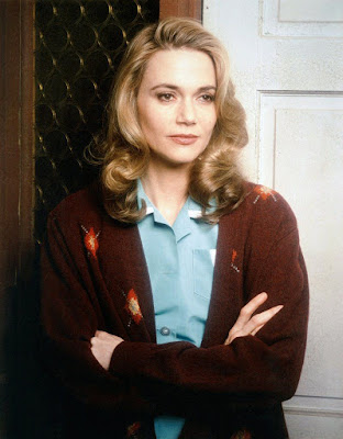 Imagem de Peggy Lipton na série dramática Twin Peaks