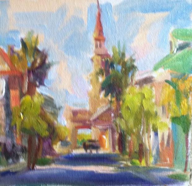 John Clayton Painting