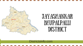 Jayashankar Bhupalpalli District revenue divisions and mandals