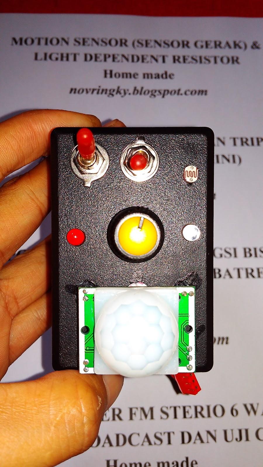 Membuat Sensor Gerak Dan Cahaya Dengan Biaya Murah Tanpa Ldr Motion Light Dependent Resistor Merupakan Yang Banyak Di Gunakan Pada Robotik Seperti Line Follower Automatic Switch