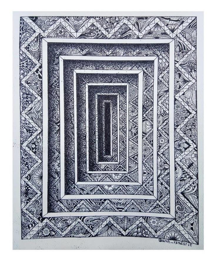 06-Squares-Chayan-Gupta-3D-Mandala-Drawings-www-designstack-co